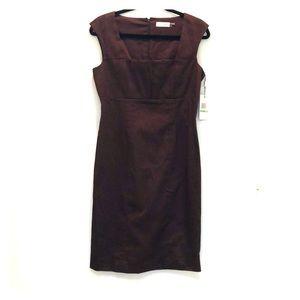 Calvin Klein brown dress